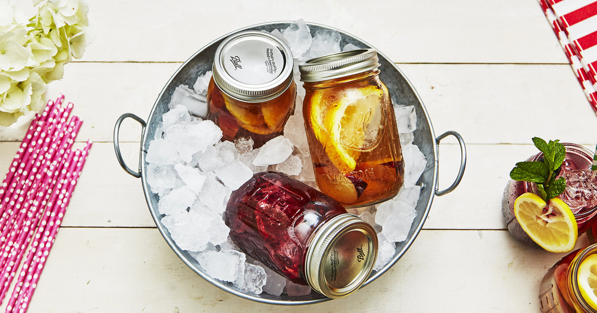 Mason Jar Drinks: 3 Recipes That Use Mason Jars For Drinking