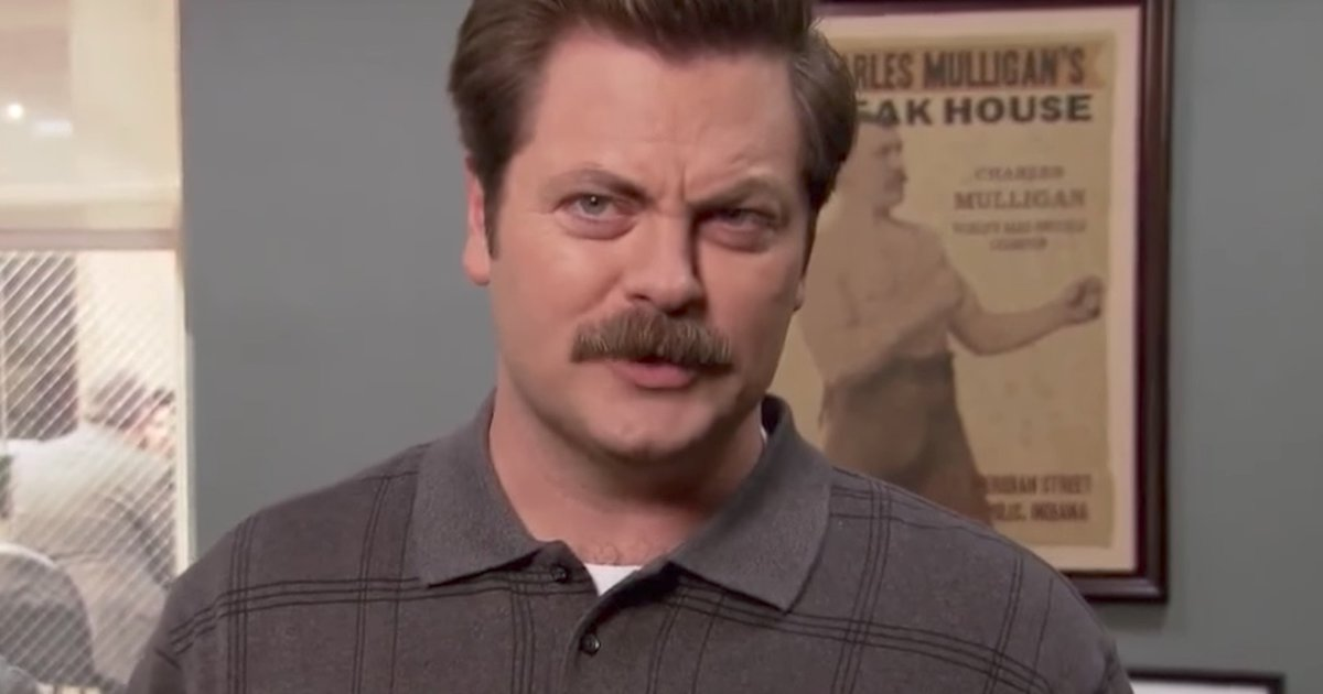 The Best Ron Swanson Quotes About Drinking Supercall