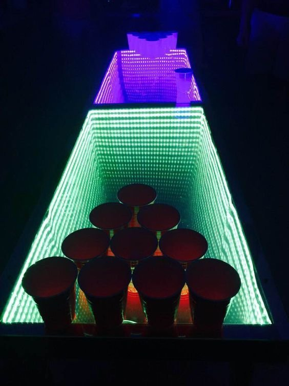 These Custom Beer Pong Table Ideas Are Pure Genius Supercall