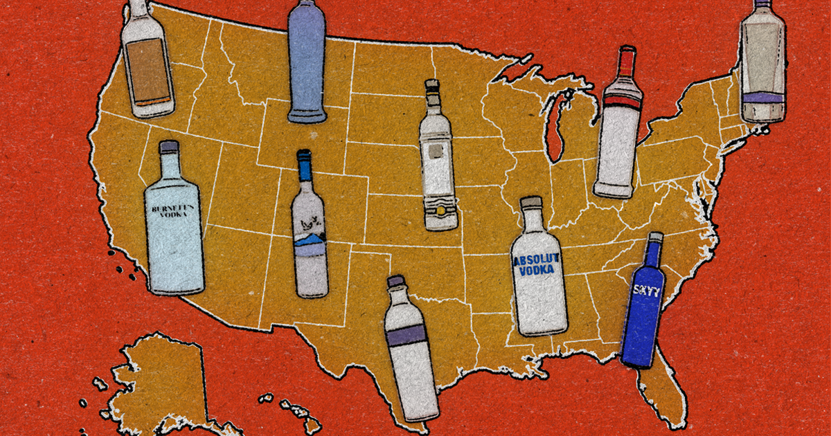 Top Vodka Brands In The US