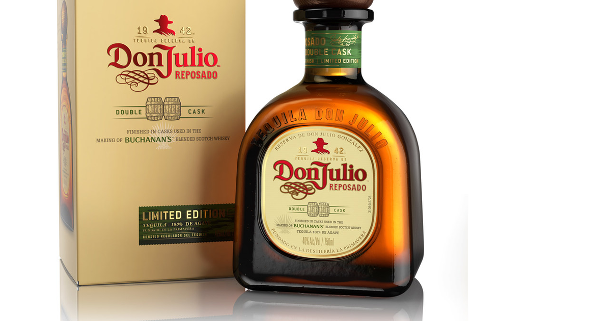 Don Julio Releases Whisky Barrel Aged Reposado Tequila Supercall